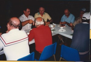 NAPP 1989 July Convention Bedford, MA 30 Dinner in St Mary Church Hall