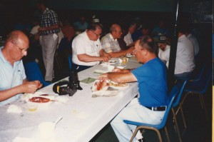 NAPP 1989 July Convention Bedford, MA 31 Dinner in St Mary Church Hall